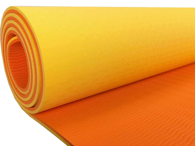 Ejercicio Tapete de Yoga, Yoga Mat para Pilates, Fitness y ...