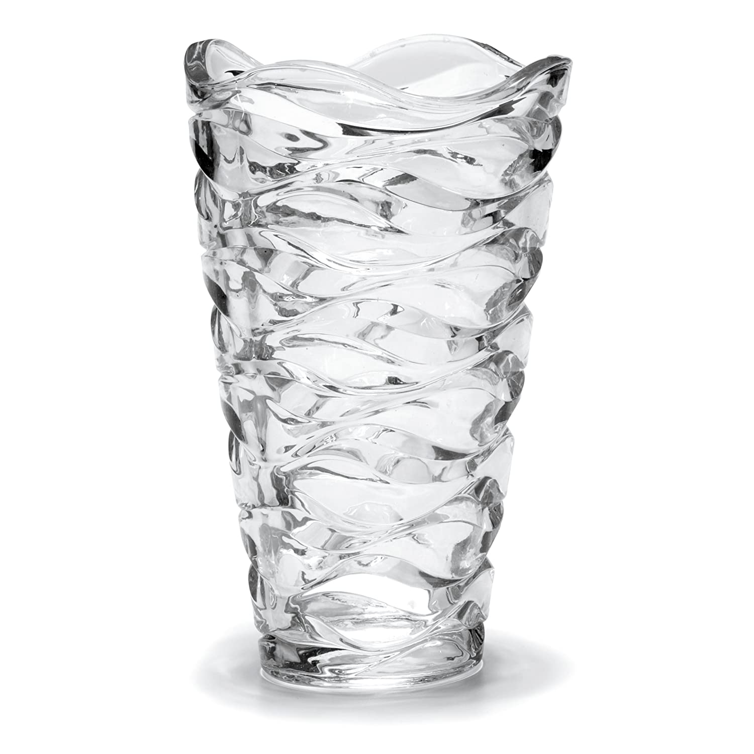 Amazon mikasa atlantic crystal vase 11 inch home kitchen reviewsmspy