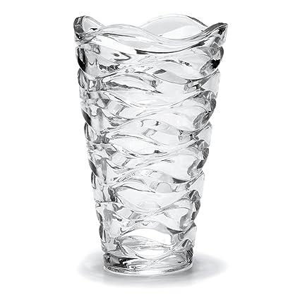 Amazon Mikasa Atlantic Crystal Vase 11 Inch Home Kitchen