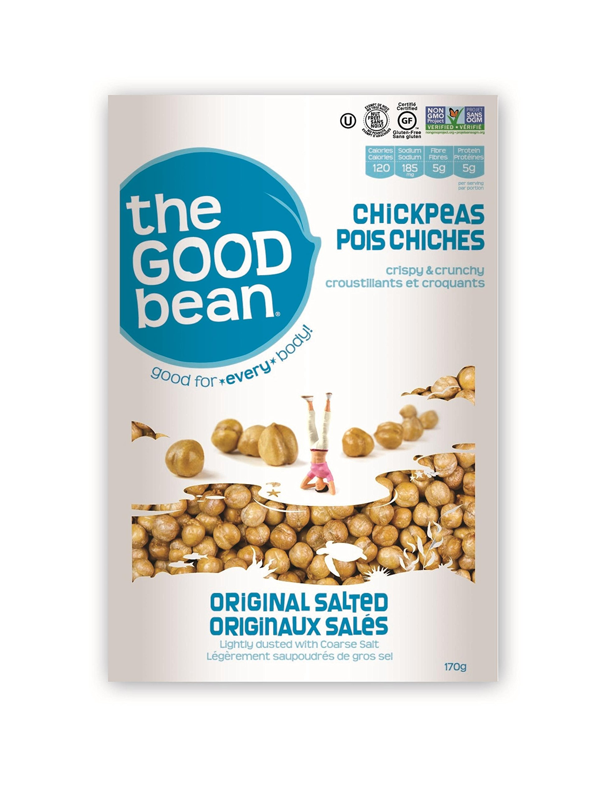 The Good Bean Chickpea Snack-Sea Salt-6 oz