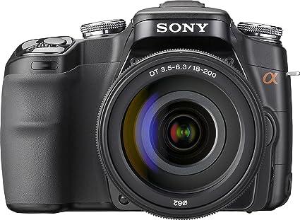 Sony DSLR-A100 Juego de cámara SLR 10,2 MP CCD 3872 x 2592 Pixeles ...