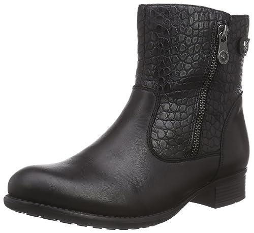 R6468, Womens Biker Boots Remonte