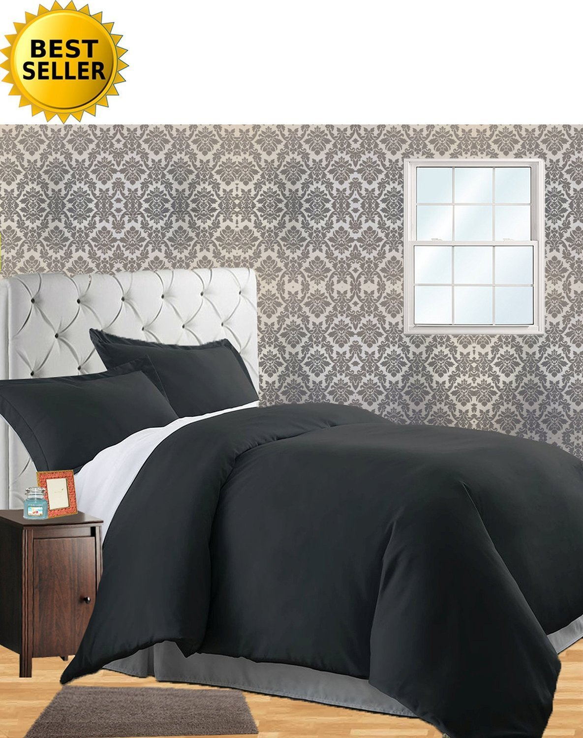3-Piece Duvet Cover Set