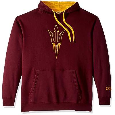 E5 Men's NCAA Mascot Hoodie, Arizona State, L: Clothing