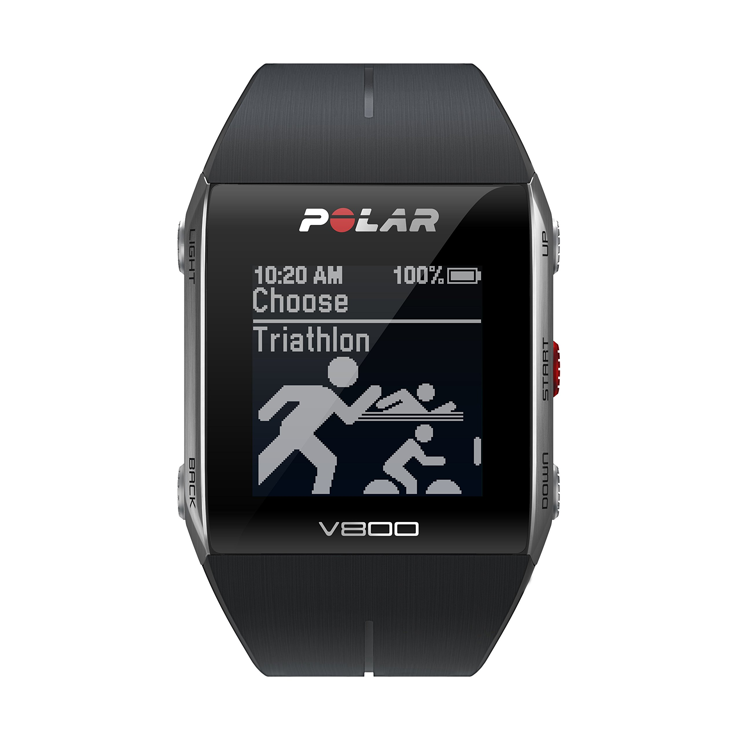 Polar V800 GPS Sports Watch, Black by Polar