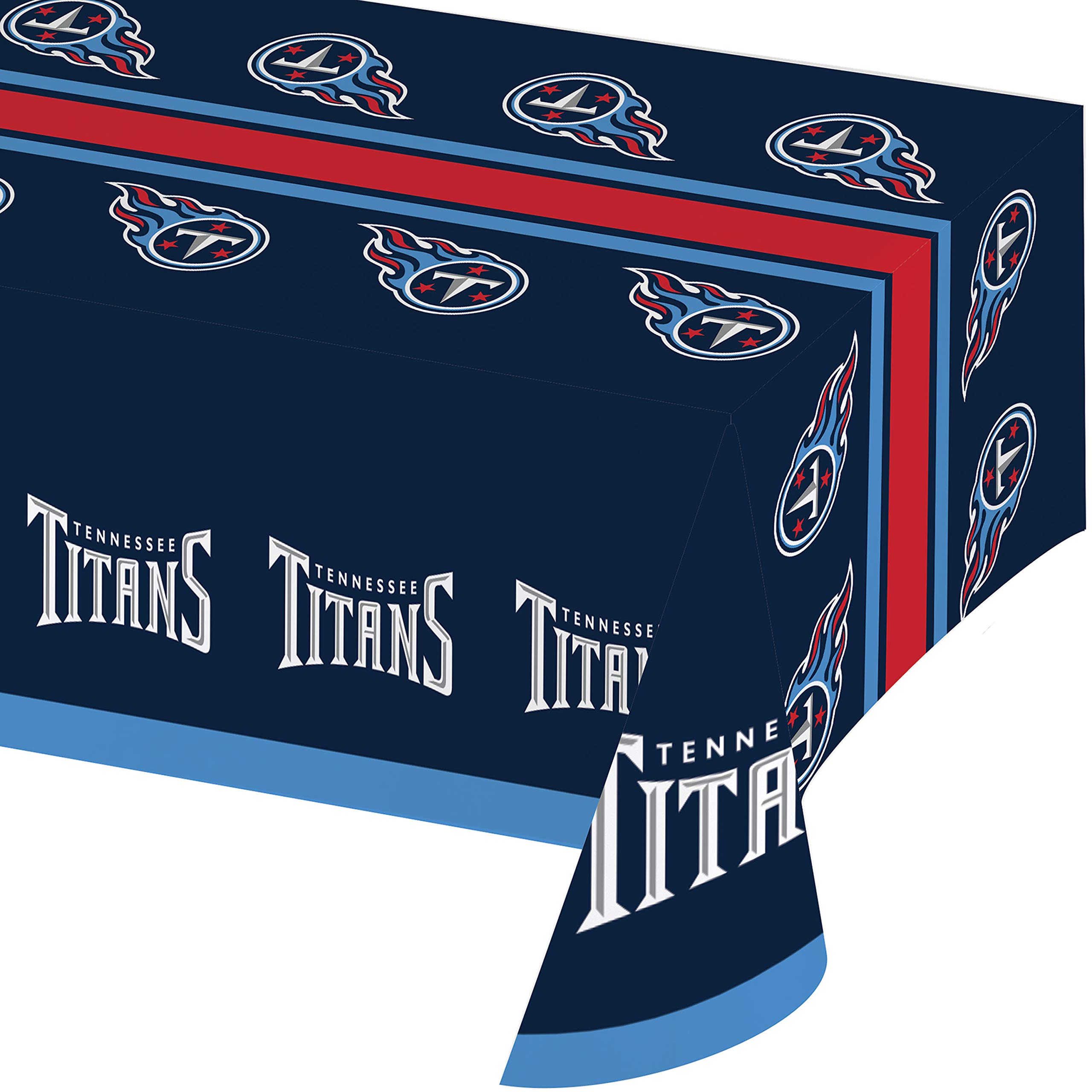 Tennessee Titans Plastic Tablecloths, 3 ct by Creative Converting