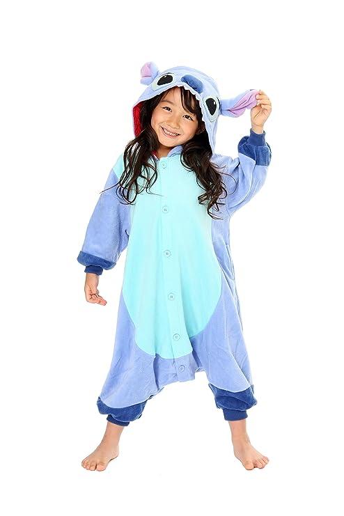 stili diversi vendita calda a buon mercato miglior sito Pigiama Kigurumi Stitch KTI-143 (Bambino 110 cm): Amazon.it ...
