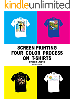Screen Printing Four Color Process On T Shirts