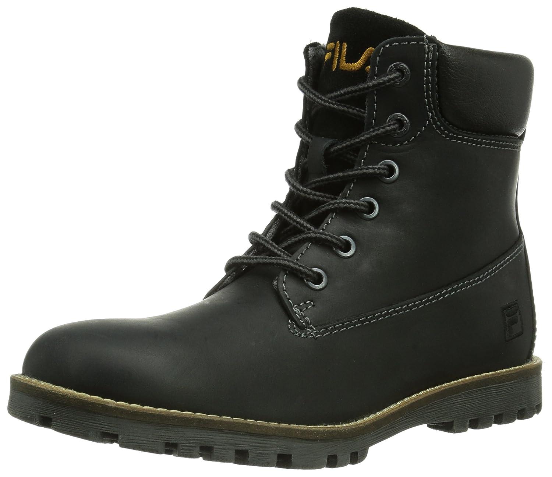 Fila Kansas Mid Wmn, Womens Boots, Black (Black), 5.5 UK