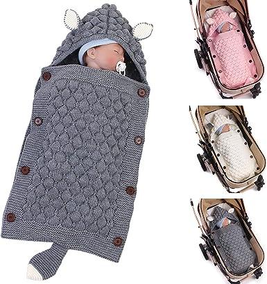 Haokaini Sacos de Dormir con Capucha para bebés recién Nacidos ...