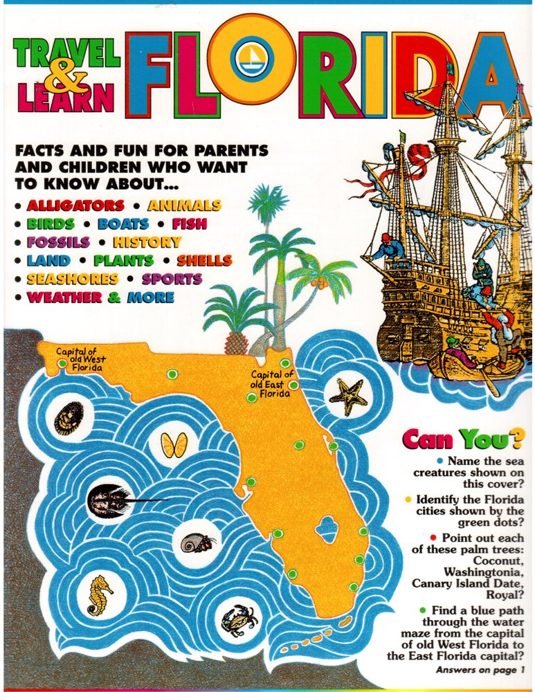 Travel & Learn Florida: A Book for Traveling Families