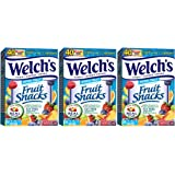 Welch's Fruit Snacks, Mixed Fruit, 40 Count, 3 PACK