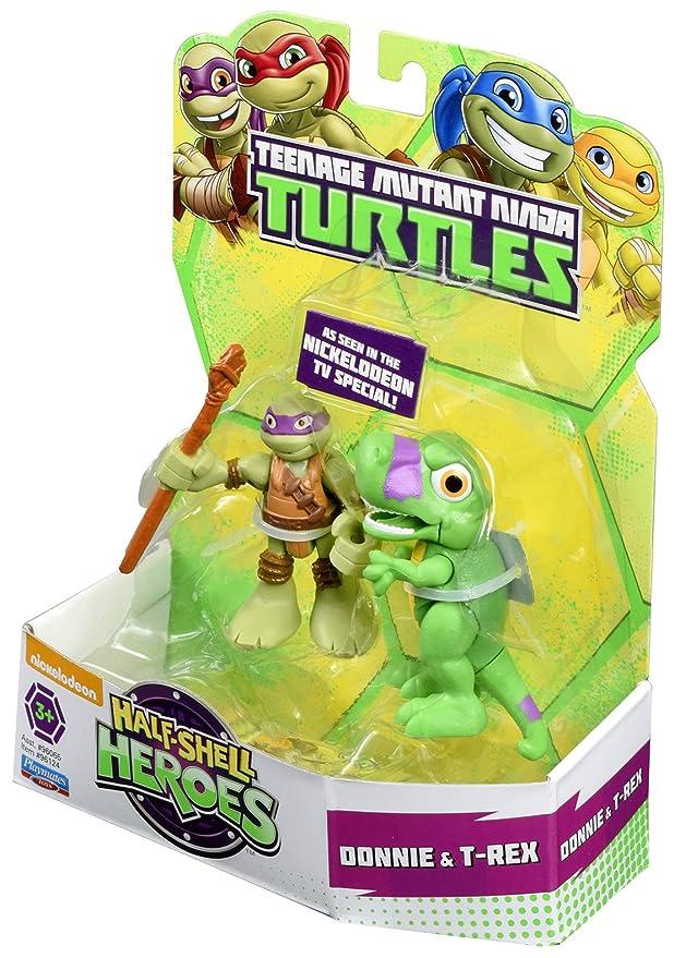 Las Tortugas Ninja Heroes Media Caja de Dino Donnie y la ...