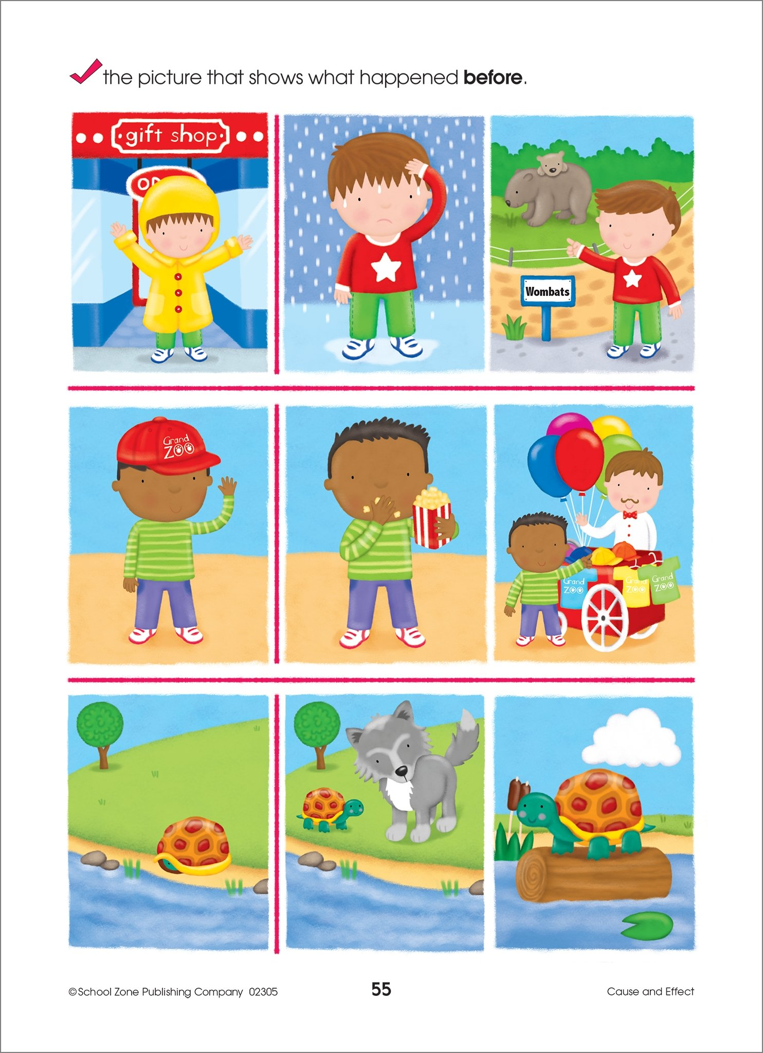 School Zone - Preschool Scholar Deluxe Edition Workbook, Ages 3 to 5, Shapes, ABCs, Early Math, and More