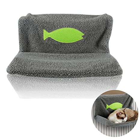 Legendog Cat Nest Camas para Gatos Radiador Cama con Estilo Warm Pet Hammock Cama Cat Colgante