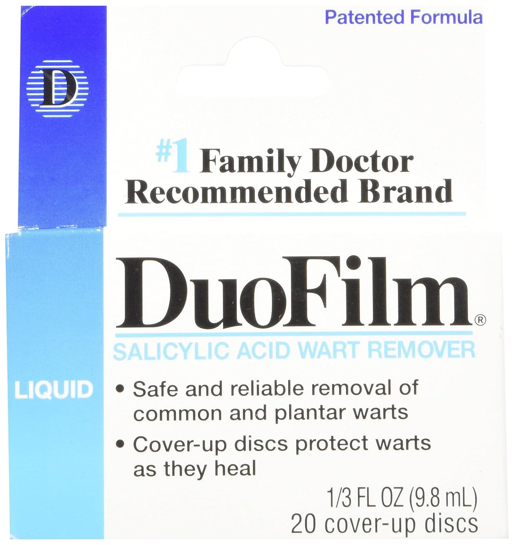 amazoncom duofilm liquid salicylic acid wart remover 13 oz health personal care