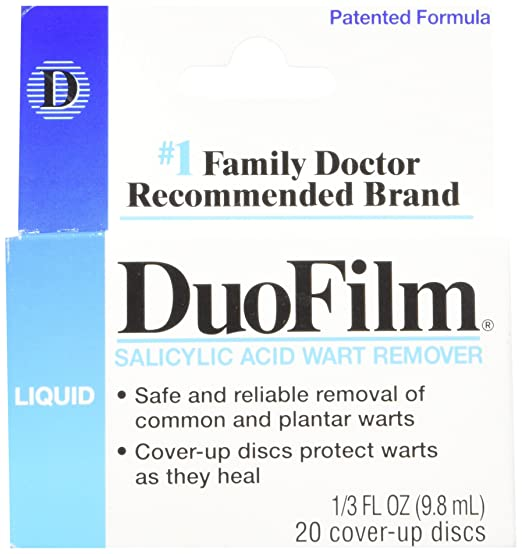 Duofilm wart ointment