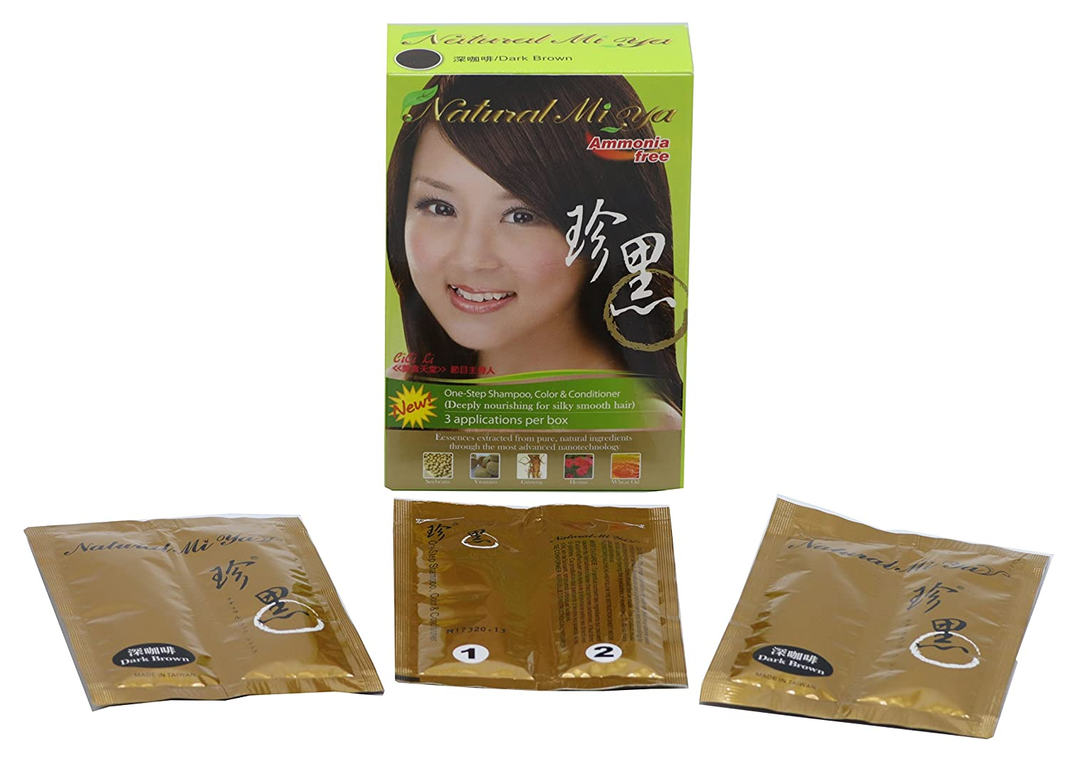 Natural Hair Color Herbal Hair Dye Hair Nutrition By Extracted