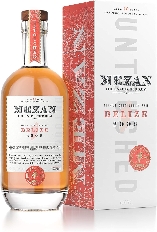 Mezan Mezan Single Distillery Rum BELIZE 2008 46% Vol. 0,7l in Giftbox - 700 ml