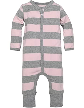 abf94f4872a2 Burt s Bees Baby - Baby Girls  Romper Jumpsuit