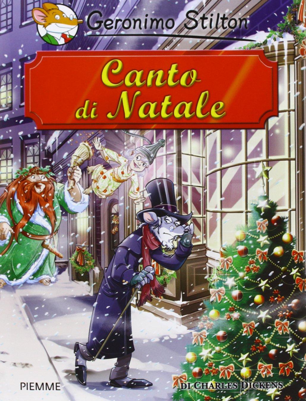 Canto Di Natale Immagini.Canto Di Natale Di Charles Dickens Geronimo Stilton