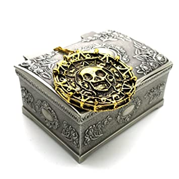 Amazoncom Ruimeng Vintage Pirates of the Caribbean Aztec Skull