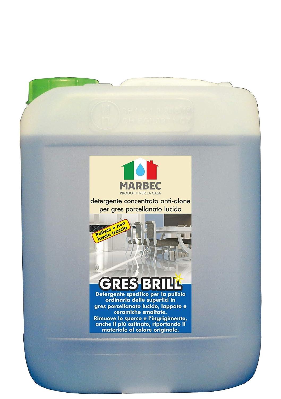 Marbec GRES Brill Reinigungskonzentrat Anti-Alone f/ür Feinsteinzeug gl/änzend 1 LT
