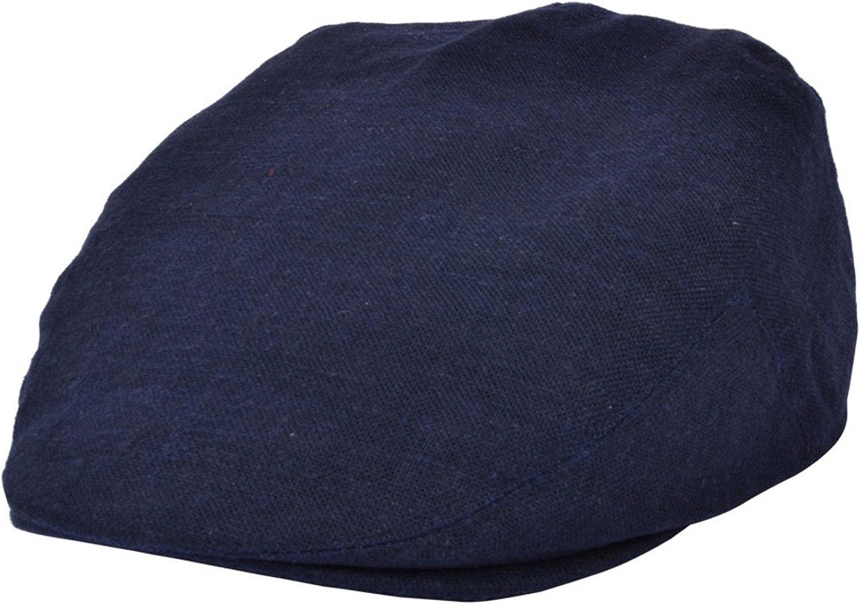 Great Horse Casquette plate en coton et lin pour adultes et enfants
