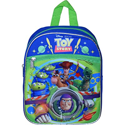 """Toy Story 10"""" Small Backpack With Heat Seal Patch Artworks 
