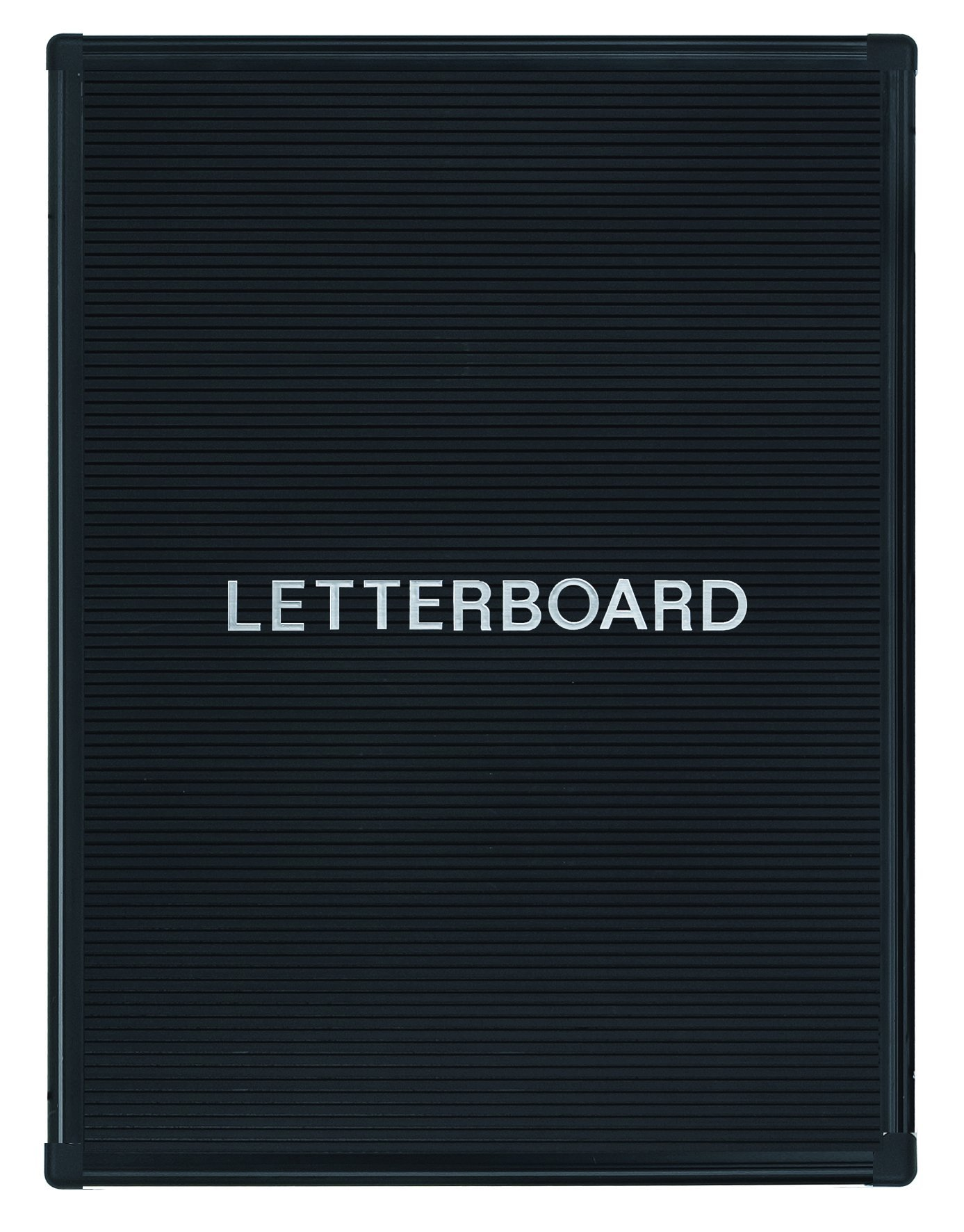 MasterVision Letter Board Welcome/Reception, 22'' x 28'' with Black Aluminum Frame