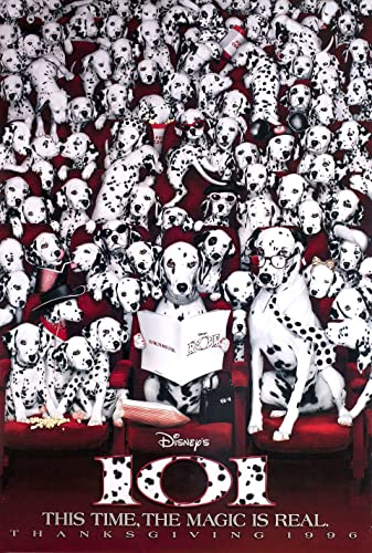 101 Dalmatians 1996 U S One Sheet Poster At Amazon S Entertainment Collectibles Store