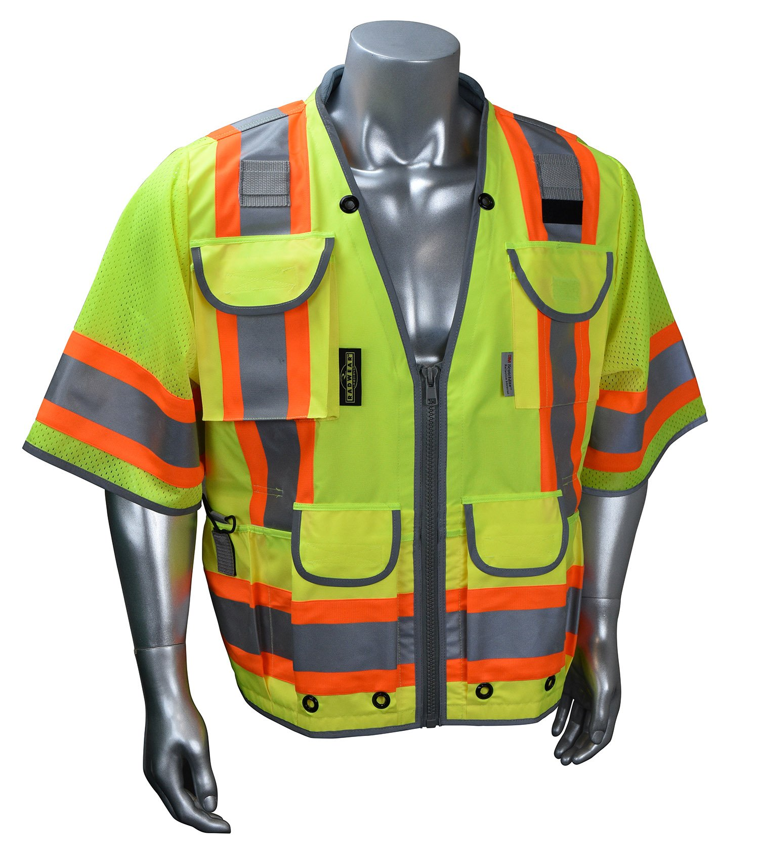 Radians SV55-3Z High Visibility Type R Class 3 Green, Zise Large