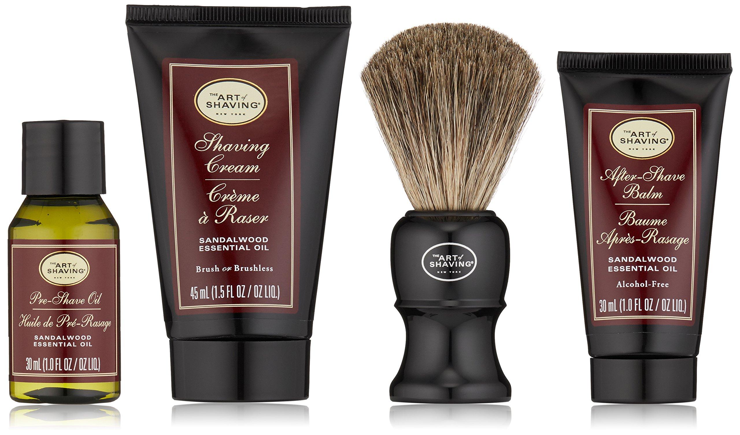 The Art of Shaving Midsize Kit, Sandalwood by The Art of Shaving