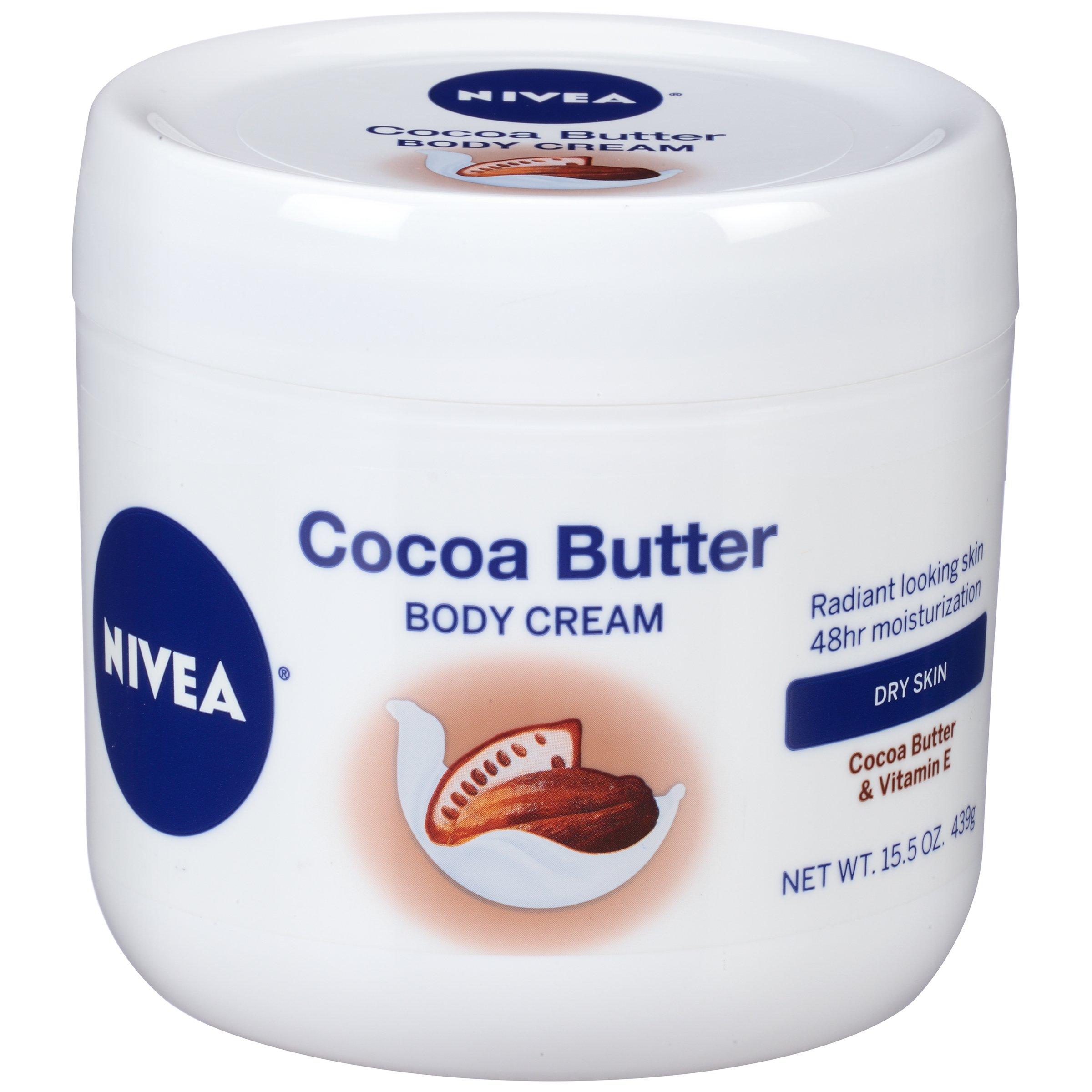 Nivea Cocoa Butter Body Cream, 15.5 Ounce
