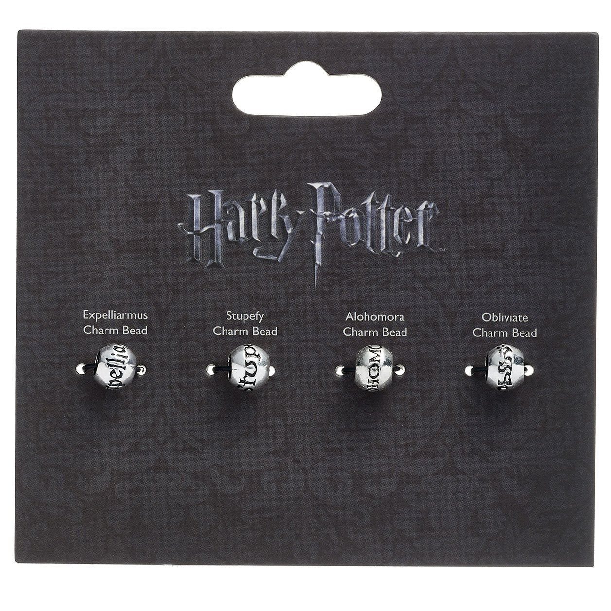 Officiellement sous licence Harry Potter Silver Plated Spell Silder charme perle Set HP0070