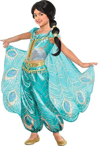 Party City Aladdin - Disfraz de jazmín para niños, incluye un mono ...