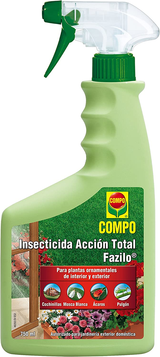 Compo 1463506011 - Insecticida Acción Total de 750 ml, Multicolor
