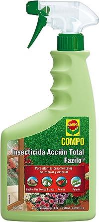 Compo Compo Fazilo Insecticida Acción Total, Para plantas ornamentales de interior y exterior, Envase pulverizador, Multicolor, 750 ml, 1463502011: Amazon.es: Alimentación y bebidas