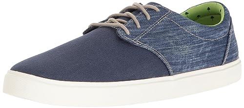 Citilane Canvas Lace, Zapatos de Cordones Oxford para Hombre, BLU (Navy/White), 41-42 EU Crocs