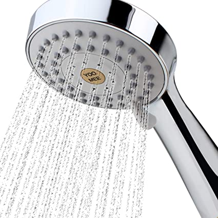Home Improvement Intelligent Handheld High Pressure Shower Head High Flow Overhead Powerful Shower Head For Spa Shower Bath