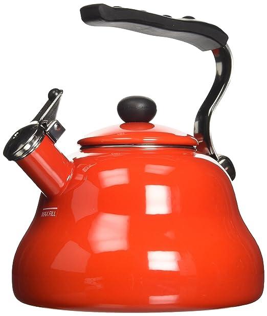 40 opinioni per Kitchen Craft Le'Xpress Bollitore a fischio 2 l colore: Rosso fuoco