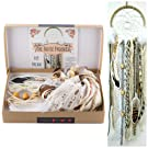 Make Your Own Dream Catcher Kit DIY Craft Activity Cream Wall Hanging Decor Stocking Stuffer Gift