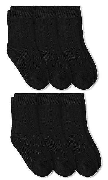 CLASSROOM Big Boys Uniform Rib Crew Socks 3 Pack