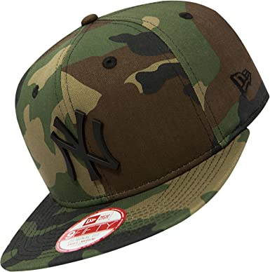 New Era Herren Caps   Snapback Cap MLB Metal Badge NY Yankees camouflage S M dbac2c92fa2f