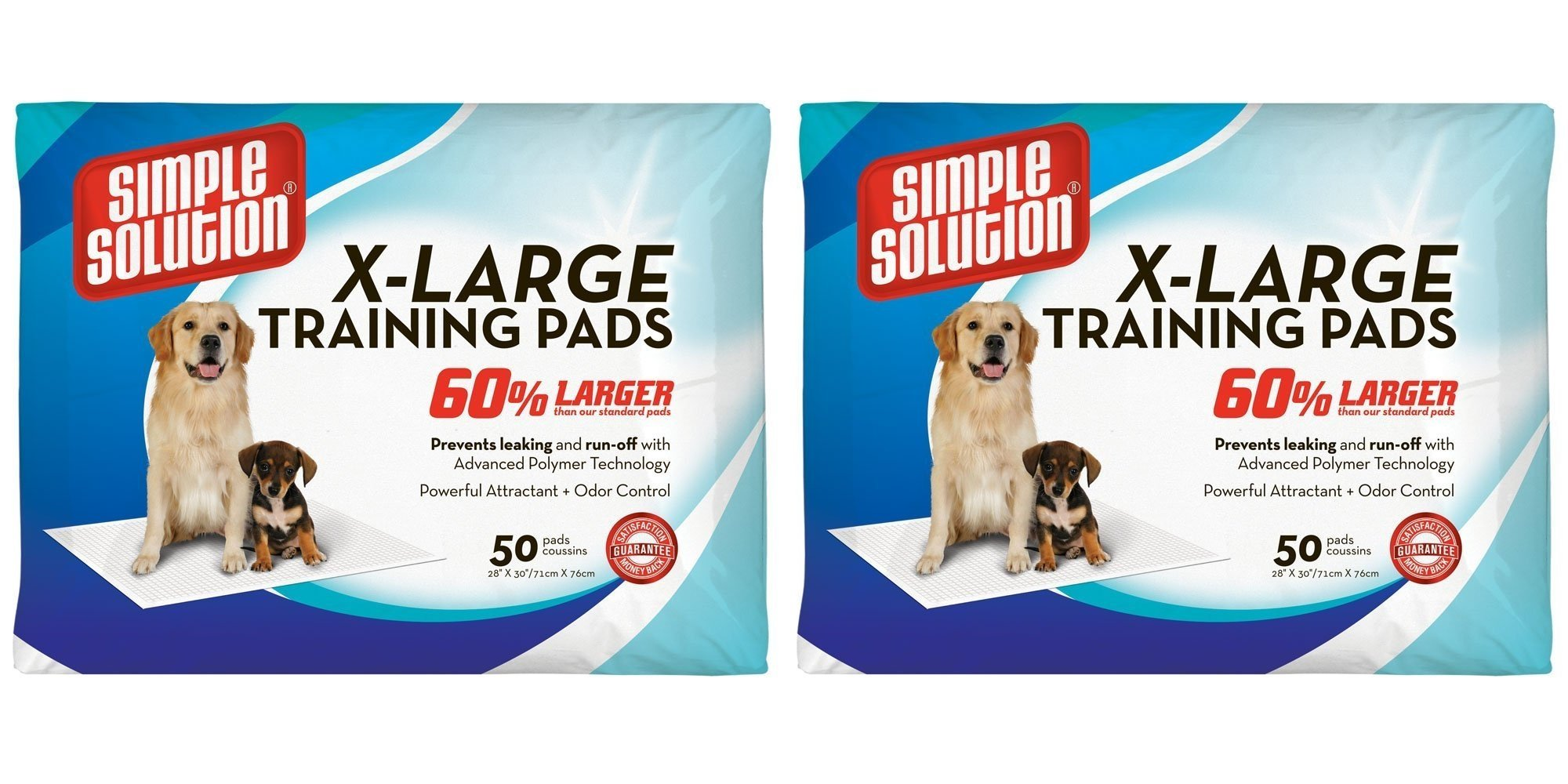 Simple Solution Training Pads, 100 Pads, Extra Large by Simple Solution