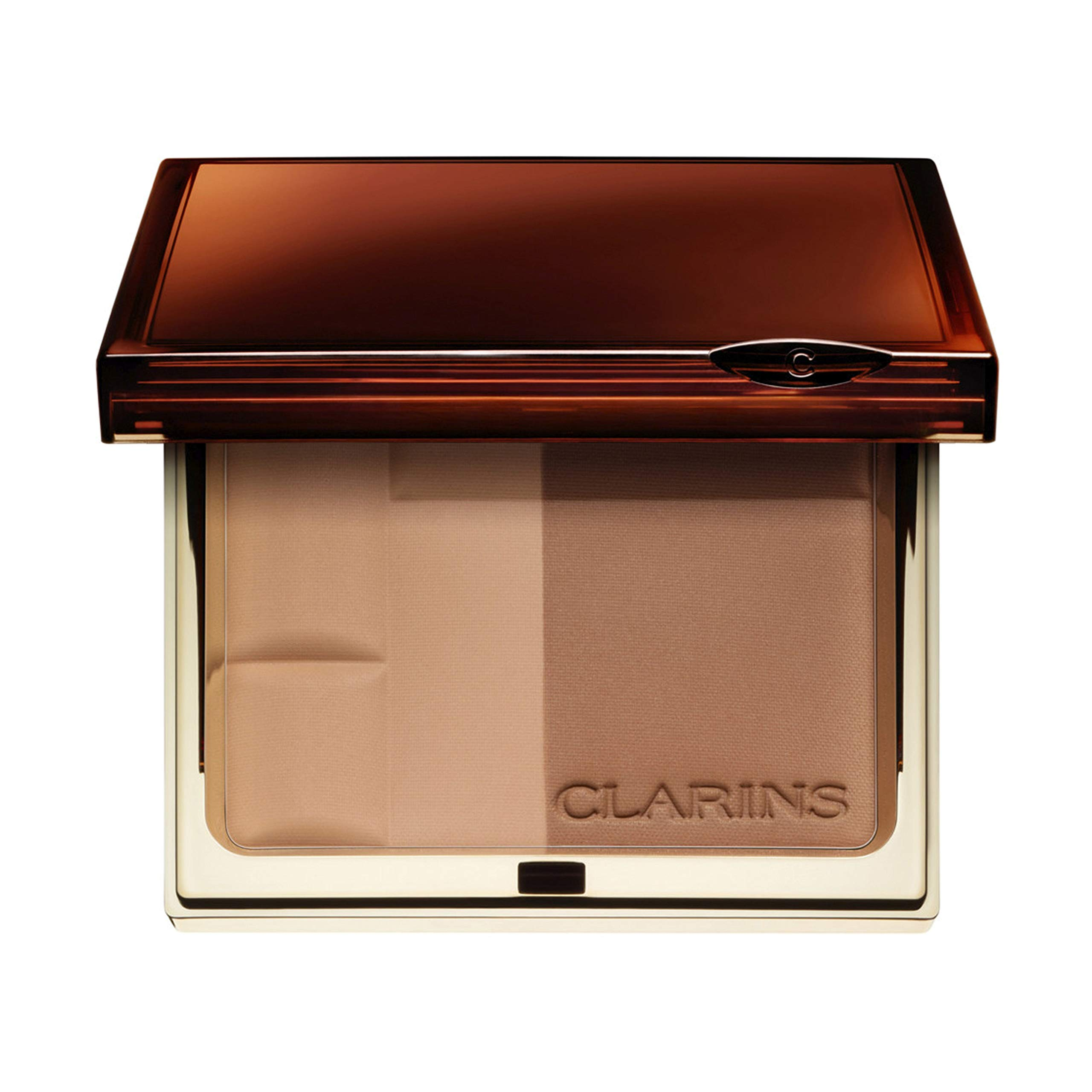 Clarins Bronzing Duo Mineral Powder Compact SPF 15-02 Medium 10g/0.35oz by Clarins