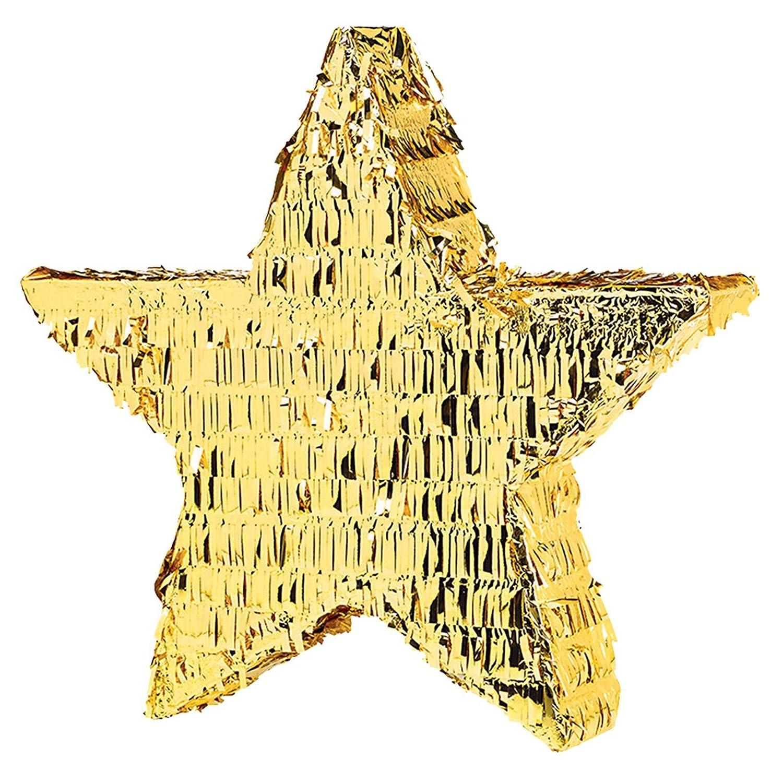 Amscan P70026 Gold Foil Star Pinatas Toy Amscan International