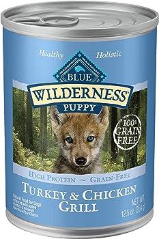 Blue Wilderness High Protein Grain Free Puppy Wet Dog Food