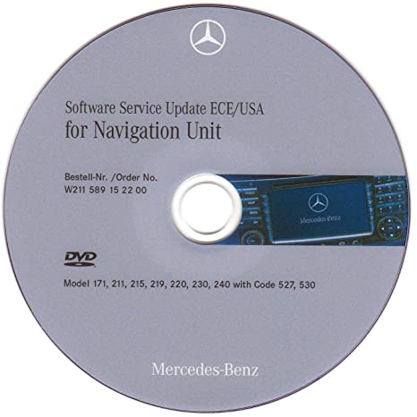 Amazon com: Mercedes NTG-1 Service Software Firmware Update disc for