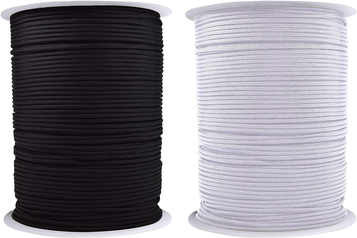 camouflage spaghetti cord for bracelet making Elastic cord for hair ties and headbands